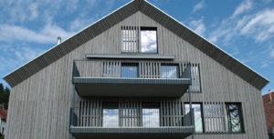 Holzbau Grimmeisen Fassade