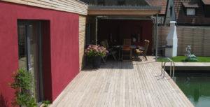 Holzbau Grimmeisen Außenbereich