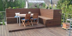 Holzbau Grimmeisen Sitzgelegenheit