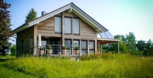 Holzbau Grimmeisen Außenfassade