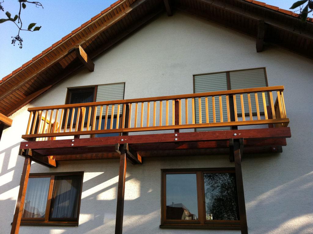 Balkon am Wohnhaus