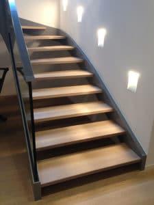 Bodenbelag einer Treppe