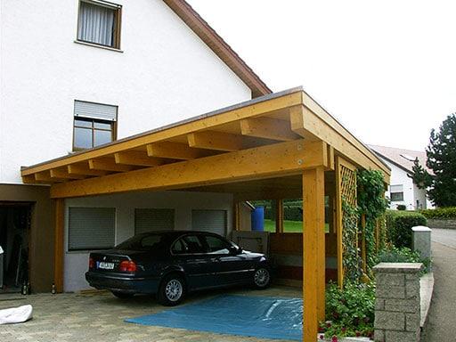 Hochwertiger Carport