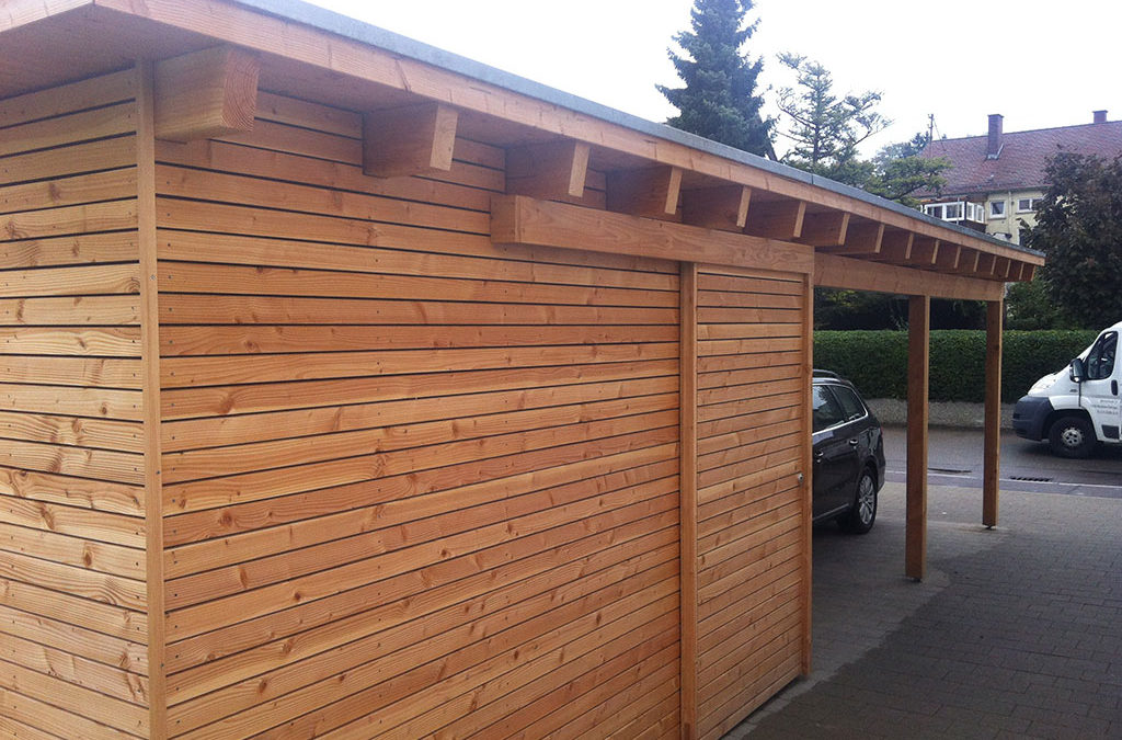 Carport Garage Holz