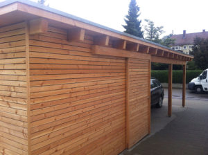 Carport Garage Holz