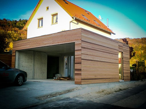 Interessanter Carport