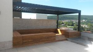 Extra Balkon Sitzecke