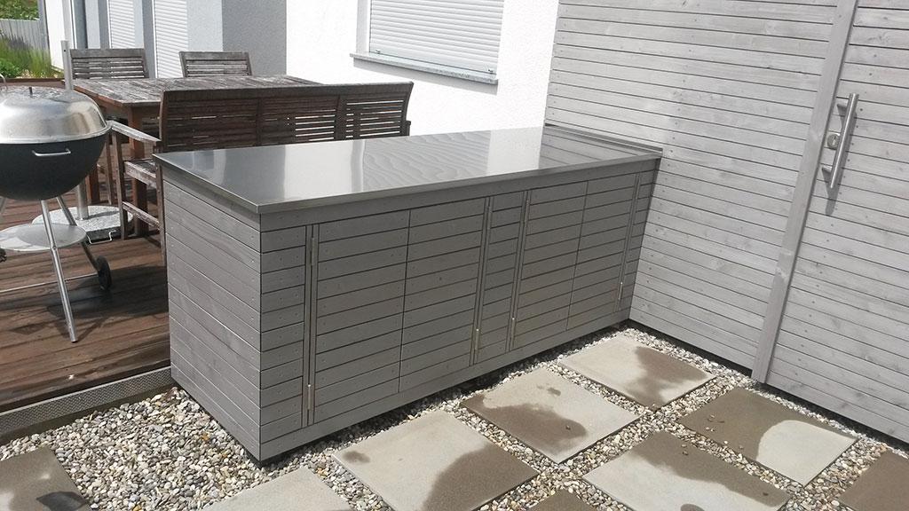 Extra Garten Holzbox