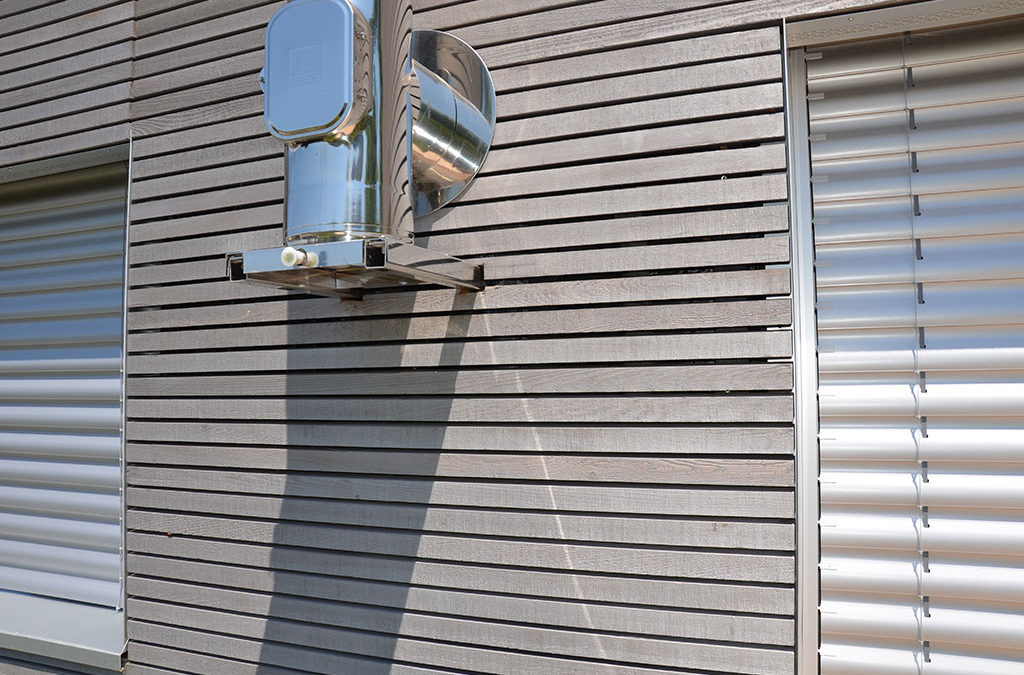 Holz Fassade Outdoor
