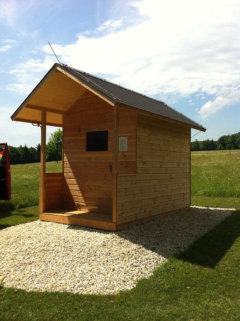 Tolles Holz Gartenhaus