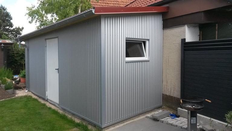 Gartenhaus Blech