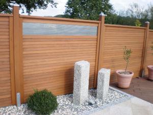 Blickdichter Holz Sichtschutz