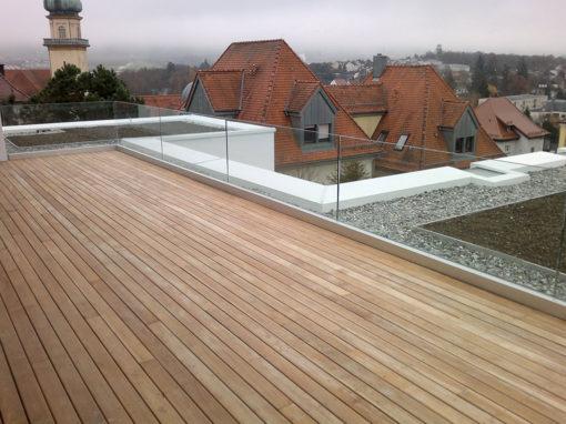Terrasse Dach Holz