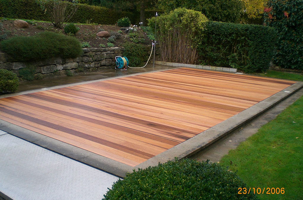 Holz Garten Terrasse