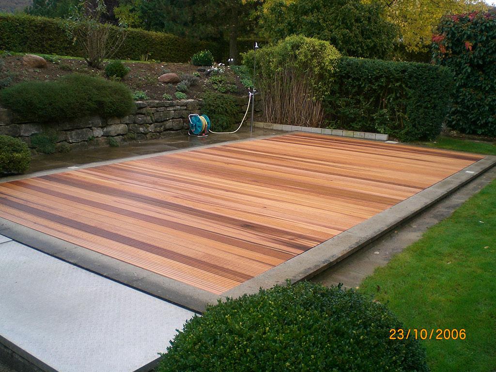Holz Garten Terrasse   Fußboden Belag Parkett Laminat Vinyl Kork