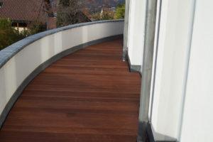 Fertige Balkon Terrasse