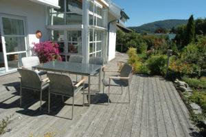 Wunderbare Garten Terrasse
