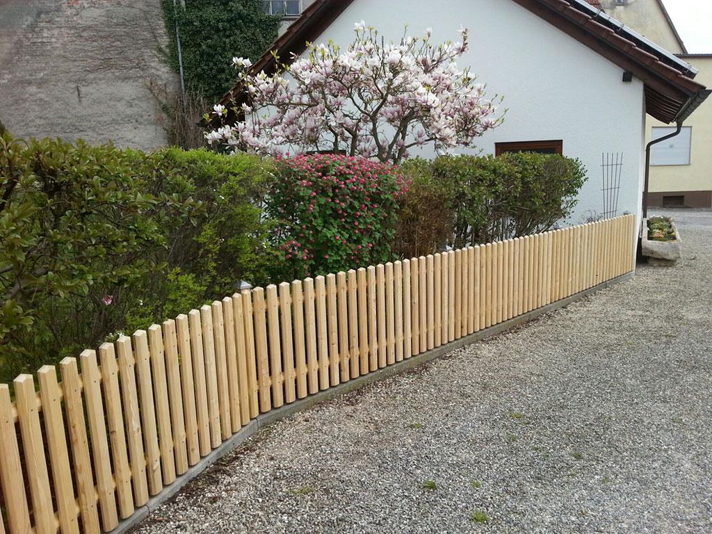 Zaun Garten Holz - Fußboden Belag Parkett Laminat Vinyl Kork
